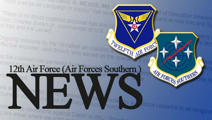 Graphic for 12th Air Force Air Forces Southern news link