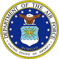 Official shield of the U.S. Air Force