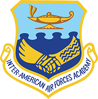 Official Shield of Inter-American Air Force Academy