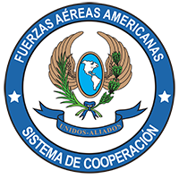 Official shield of System of Cooperation Among the American Air Forces